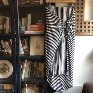 Splendid Margherita Isola Wrap Sarong Linen stripe